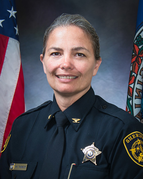 Chief Deputy Victoria Thomson